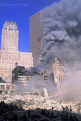 WTC 7 on fire